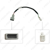 Picture of Car Audio Input Media Data Wire Original Plug 4Pin Car AUX Adapter For Peugeot AUX Cable Adapter