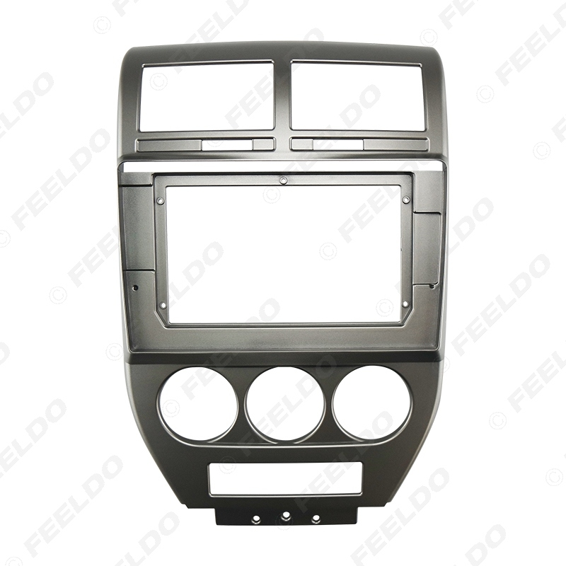 """Picture of Car Audio 10.1"""" Big Screen DVD Fascia Frame Adapter For JEEP Compass 07-09 2Din Dash Installation Panel Frame Kit"""