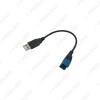 Picture of Car Audio Input Media Data Wire 2.0 USB To Mini USB Port Cable Adapter For Nissan Ford Series USB AUX Transfer