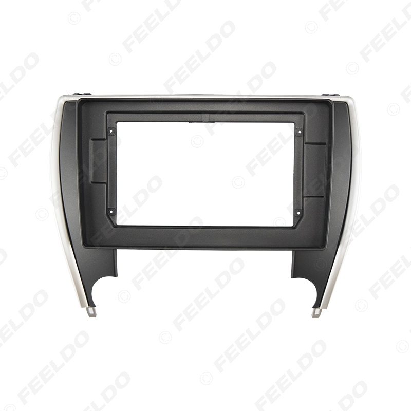 """Picture of Car Audio Fascia Frame Adapter For Toyota Camry 2015+ 10.1"""" Big Screen 2DIN Dash Fitting Panel Frame Kit"""