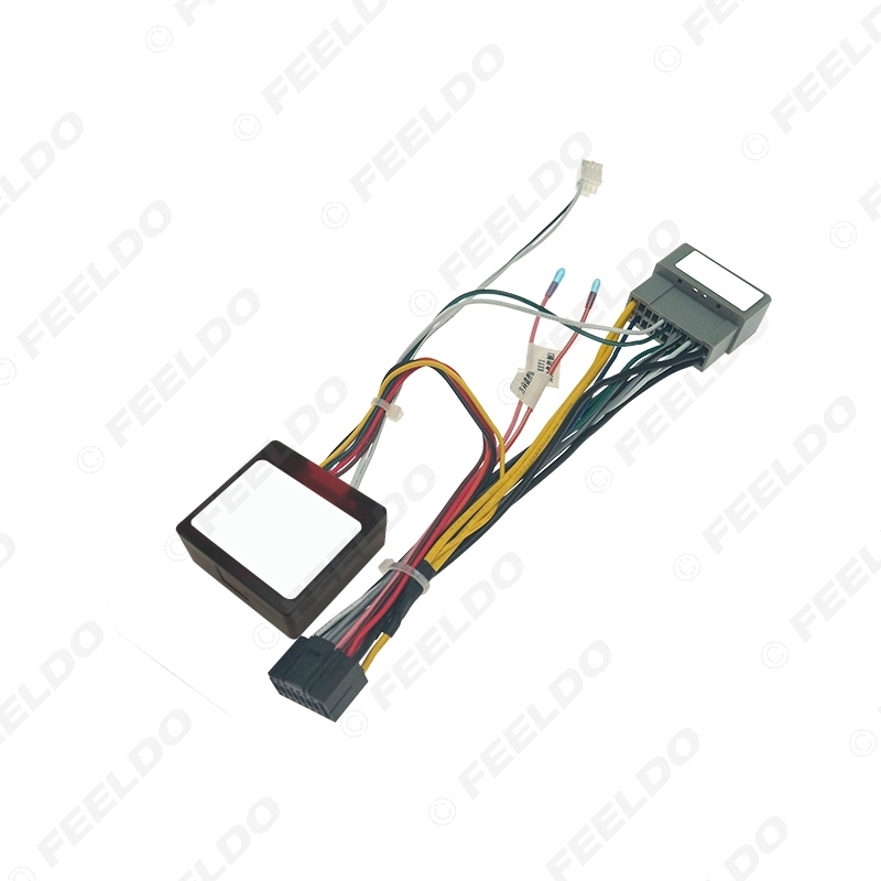 Picture of Car Audio 16PIN CD/DVD Player Power Calbe Adapter With Canbus Box For Chrysler PT Cruiser 05-10 Stereo Plug Wiring Harness