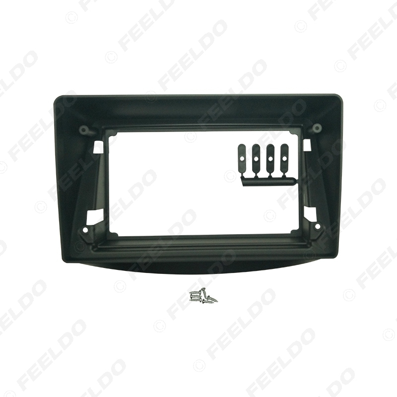 """Picture of Car Audio Fascia Frame Adapter For Mitsubishi Grandis 9"""" Big Screen 2DIN Dash Fitting Panel Frame Kit"""