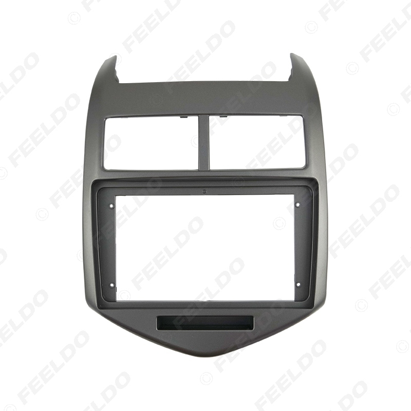 """Picture of Car Audio Fascia Frame Adapter For Chevrolet Aveo 11-13 9"""" Big Screen 2DIN Dash Fitting Panel Frame Kit"""