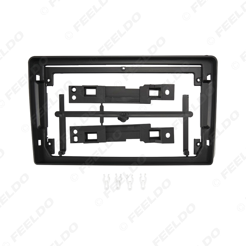 """Picture of Car Audio Fascia Frame Adapter For Zhonghua Junjie FRV 9"""" Big Screen 2DIN Dash Fitting Panel Frame Kit"""
