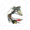 Picture of Car 16pin Audio Wiring With 360 Wiring Harness With Canbus BOX For Honda CRV 12-13 Stereo Installation Wire Adapter