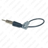 Picture of Car 1PIN Female to ISO Male Plug Radio Antenna Adapter For Honda CRV Civic Accord Single Head Radio Wire Cable