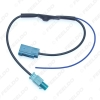 Picture of Car FAKRA II Radio Signal Amplifier Radio Antenna AM/FM Wiring Adapter For Volkswagen/Skoda/Audi OEM Stereo Head Unit