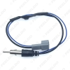 Picture of Car Stereo Radio Antenna Standard Wiring Plug Adapter With Amplifier FM Wire Harness for Honda Aftermarket Installation Cable