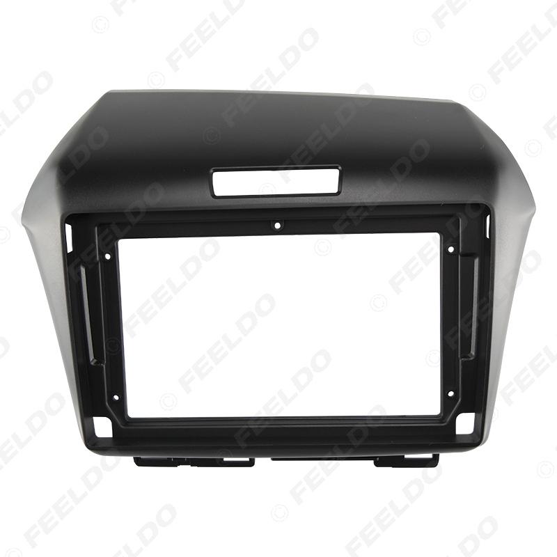 "Picture of Car Audio Fascia Frame Adapter For Honda Jade 2013 (LHD/RHD) 9"" Big Screen 2DIN Dash Fitting Panel Frame Kit"