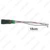 Picture of Auto Fog Lights Working Lights Switch With 5Pin On-Off Button Wire For Nissan X-trail Qashqai Tiida Switch Wire Cable
