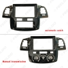 Picture of Car Stereo 9 Inch Big Screen Fascia Frame Adapter For Toyota Hilux 2Din Dash Audio Fitting Panel Frame Kit