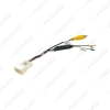 Picture of Car Radio Audio Parking Rear Camera Video Plug Converter Cable For Hyundai KIA Parking Reverse Wire Adapter