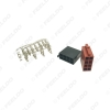 Picture of Universal Car Radio ISO 8Pin Terminal Block Socket Connector For Volkswagen Harness Cable Connector Port